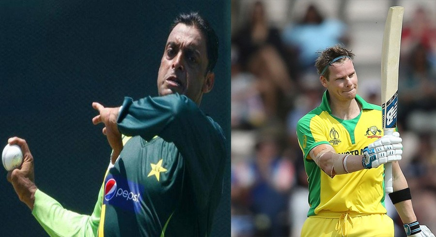 ICC trolls Shoaib Akhtar after Steve Smith jibe