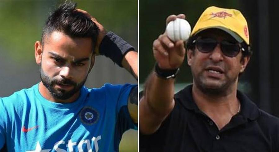 I would have sledged him: Wasim Akram on bowling to Virat Kohli