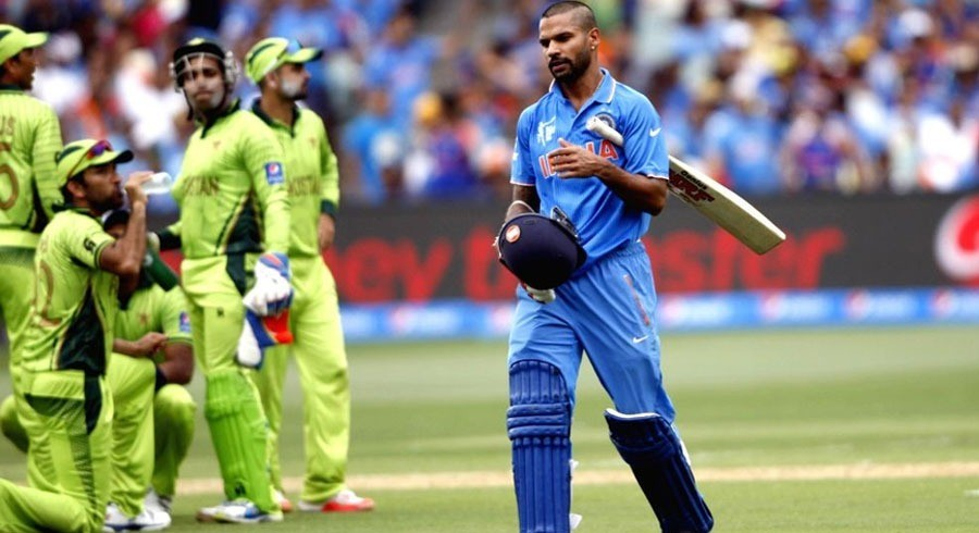 Pakistan fans' taunts spurred Dhawan against Men in Green in 2015 World Cup