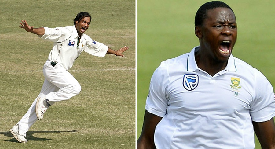 Kagiso Rabada includes 'pace of Shoaib Akhtar' in his perfect fast-bowler