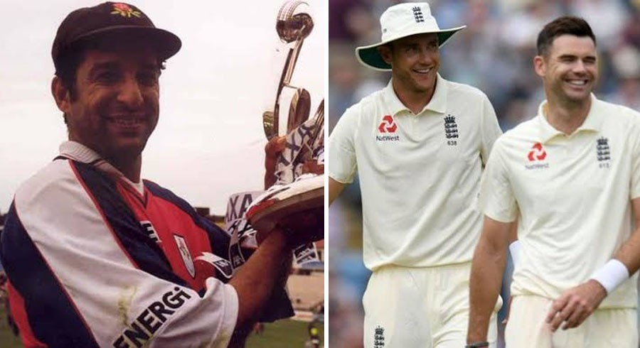 Anderson, Broad in awe of Akram's memorable spell for Lancashire