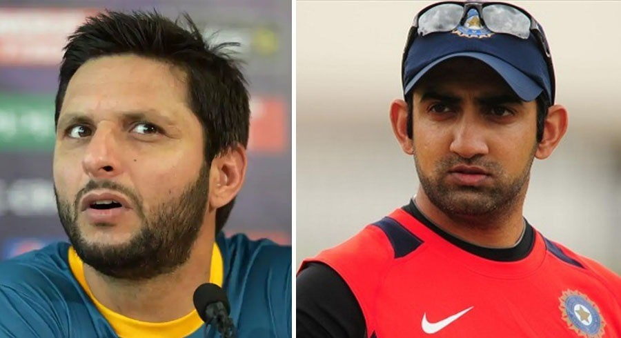 Gambhir, others send well-wishes for Afridi after testing positive for Covid-19