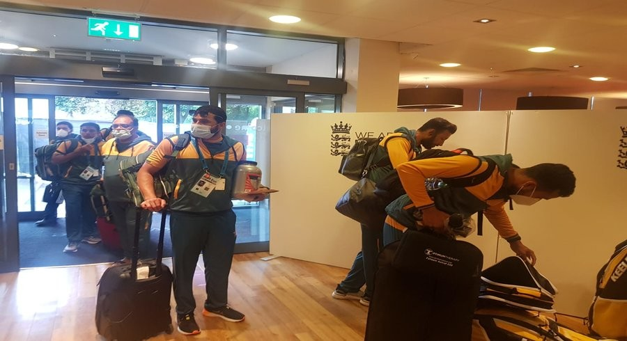 Pakistan team staying in three-star hotels on England tour