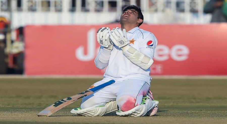 Pakistan's Abid Ali cleared of concussion after warm-up blow