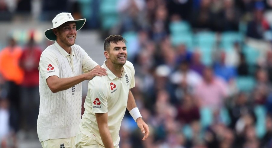 Anderson, Broad put England on top in series decider
