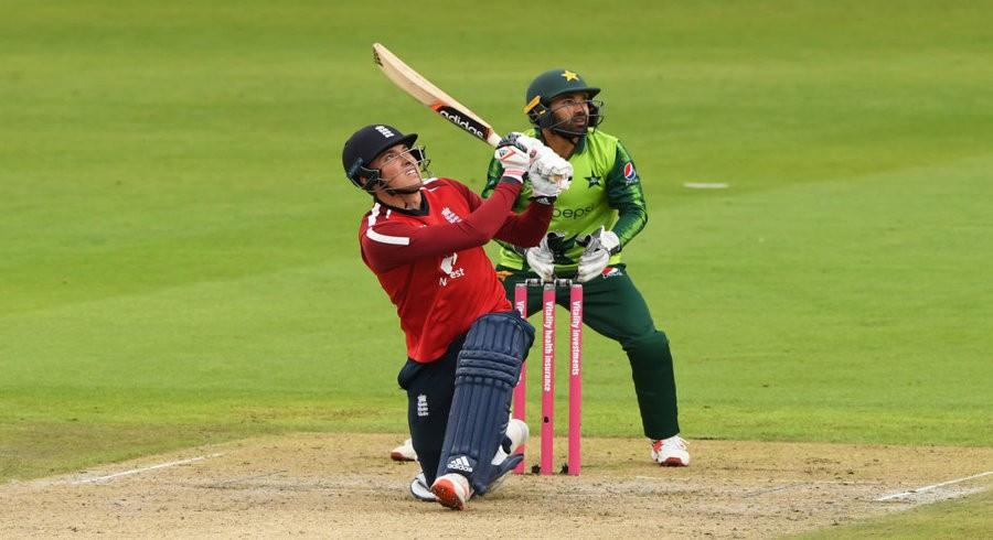 Banton shines before rain abandons first T20I between England, Pakistan