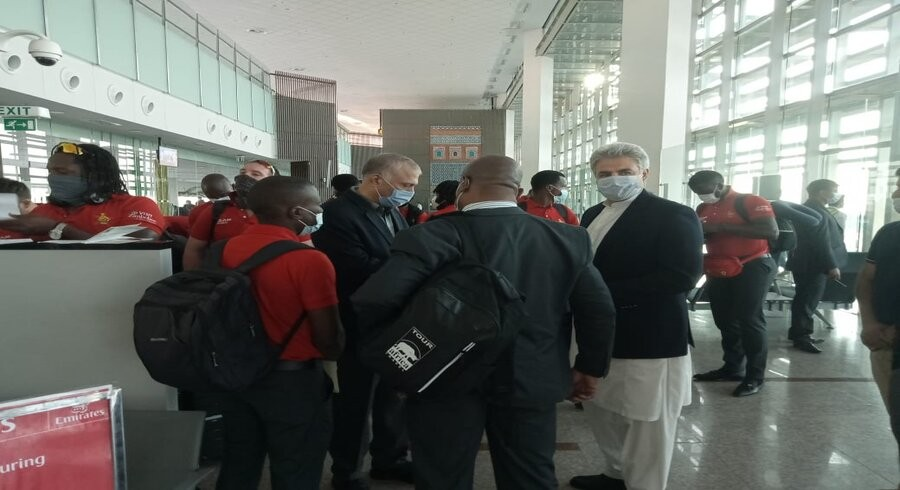 Zimbabwe arrive in Pakistan for limited-overs series