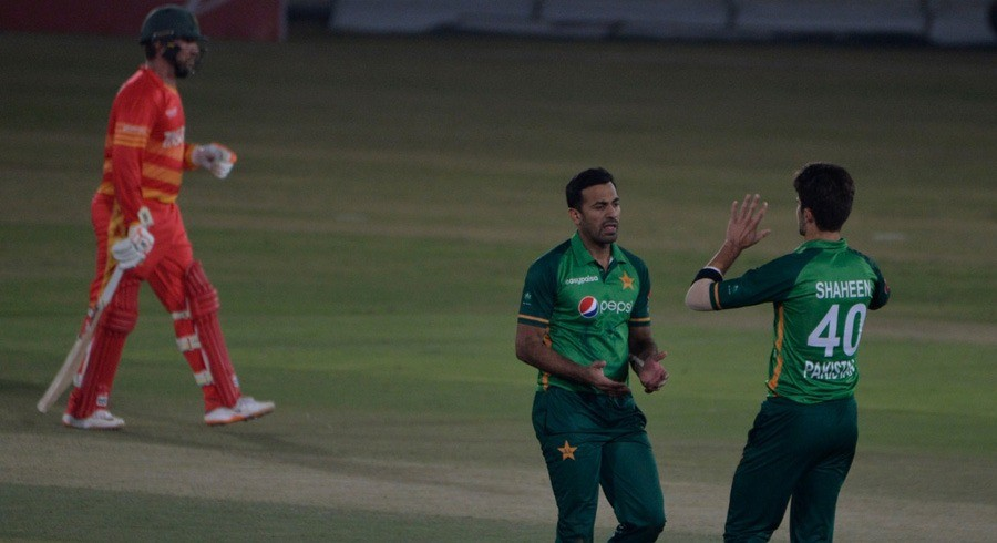 Taylor century in vain as Pakistan hold nerve to down Zimbabwe