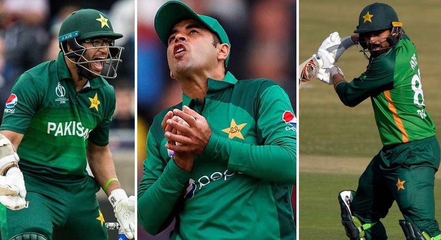 Three players released from Pakistan squad after ODI series against Zimbabwe