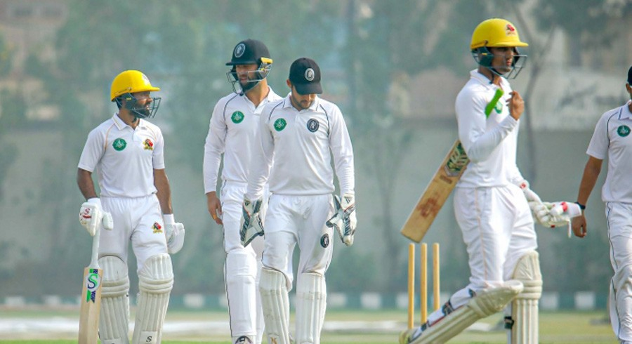 34 wickets fall on day one of seventh round Quaid Trophy fixtures