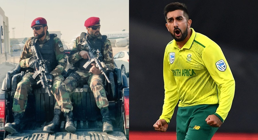 'Real life Call of Duty': Tabraiz Shamsi praises tight security in Pakistan