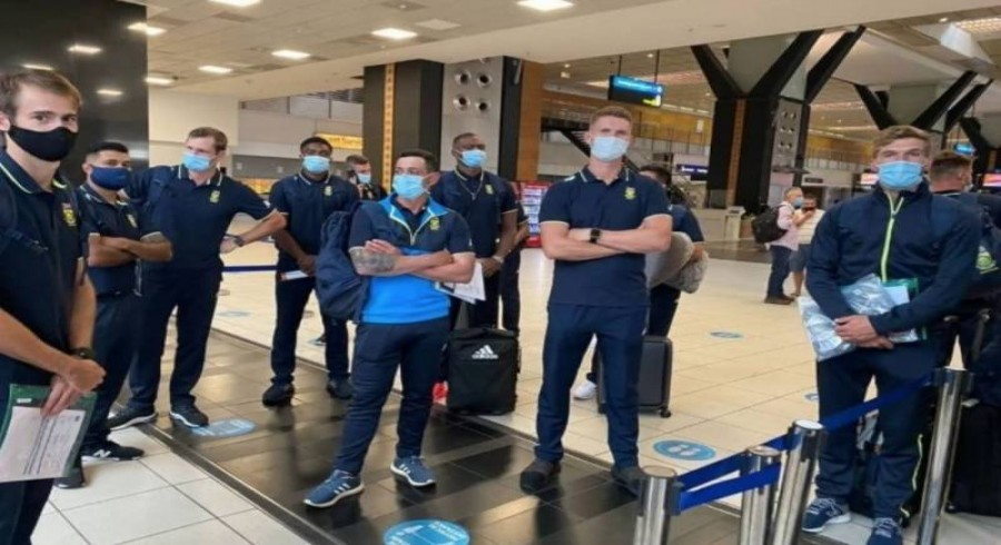 All members of South African contingent test negative for Covid-19