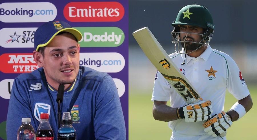 De Kock praises 'top-class' Babar Azam ahead of Test series