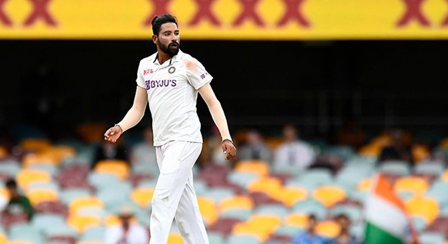 India's Siraj says mum's pep talk made him 'mentally strong'