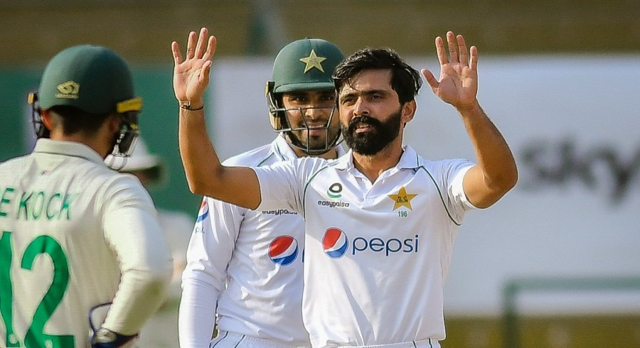 Fawad Alam hits third Test ton as Pakistan secure 88-run lead over South Africa