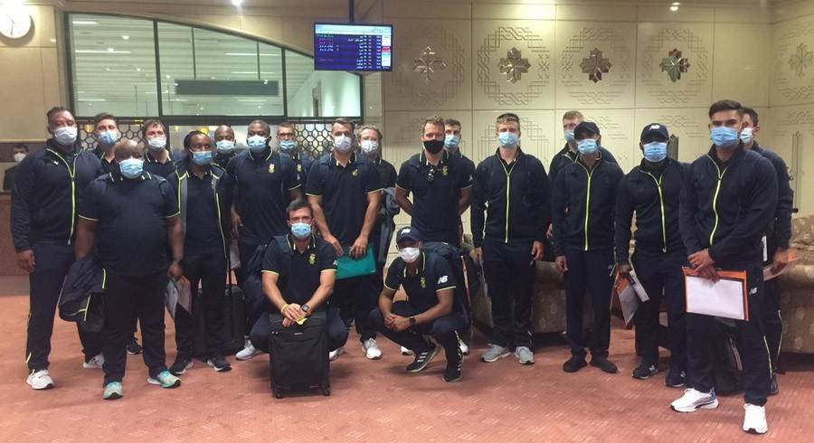 پاکستان کے خلاف ٹی ٹوئنٹی سیریزکے لیے 20 رکنی جنوبی افریقا کا دستہ لاہورپہنچ گیا