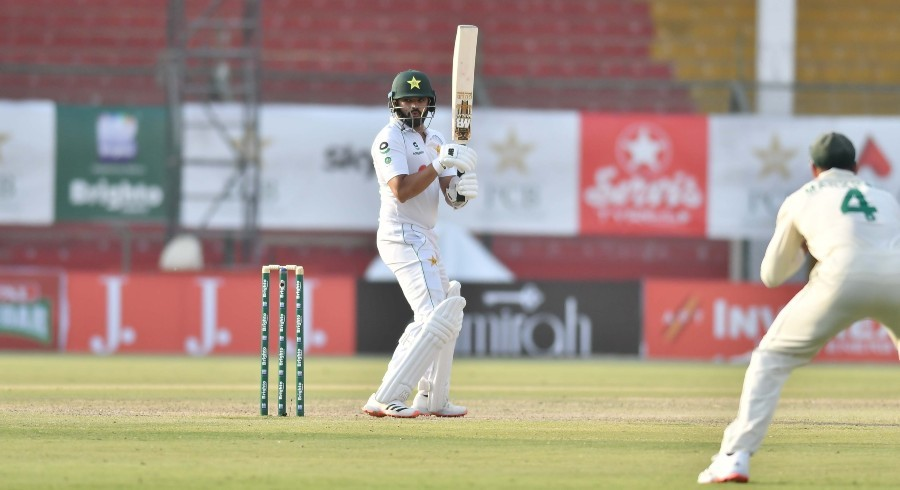 Pakistan's opening woes continue as Azhar, Babar guide their side to tea