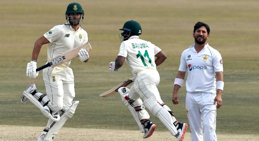Markram, Bavuma frustrate Pakistan after Hasan's incredible start on day five