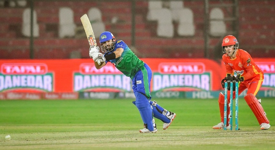 Superb Rizwan propels Multan Sultan to 150 runs against Islamabad United