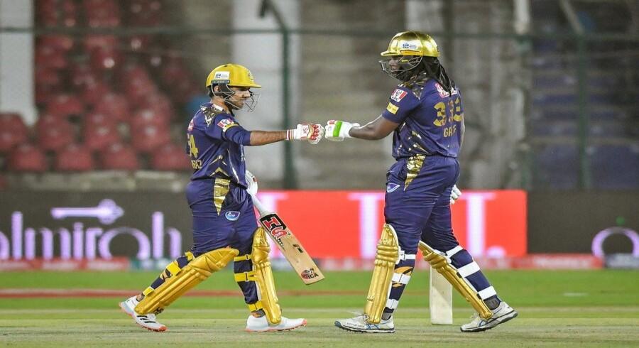 Gayle, Sarfaraz century partnership helps Quetta set 179-run target