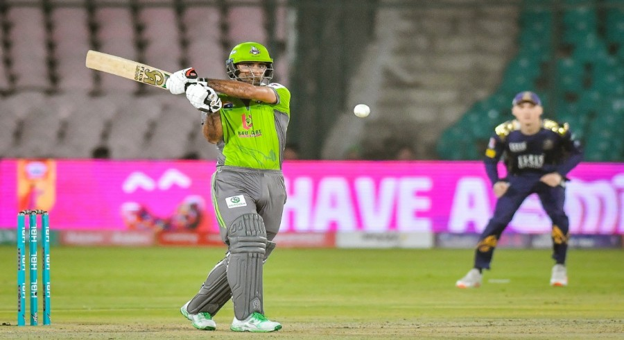 Fakhar, Hafeez star in Lahore's crushing nine-wicket win over Quetta