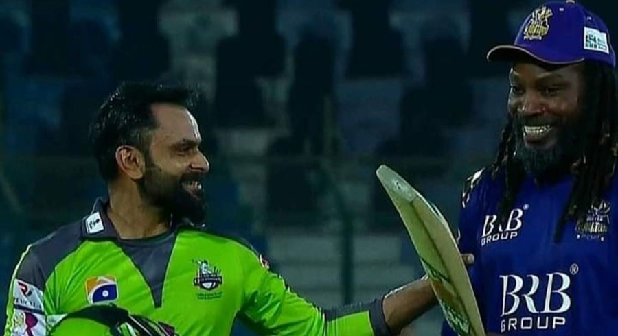 Muscles and willow: Mohammad Hafeez reveals conversation with Chris Gayle