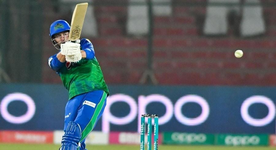 Multan Sultans post highest total of HBL PSL 6 against Peshawar Zalmi