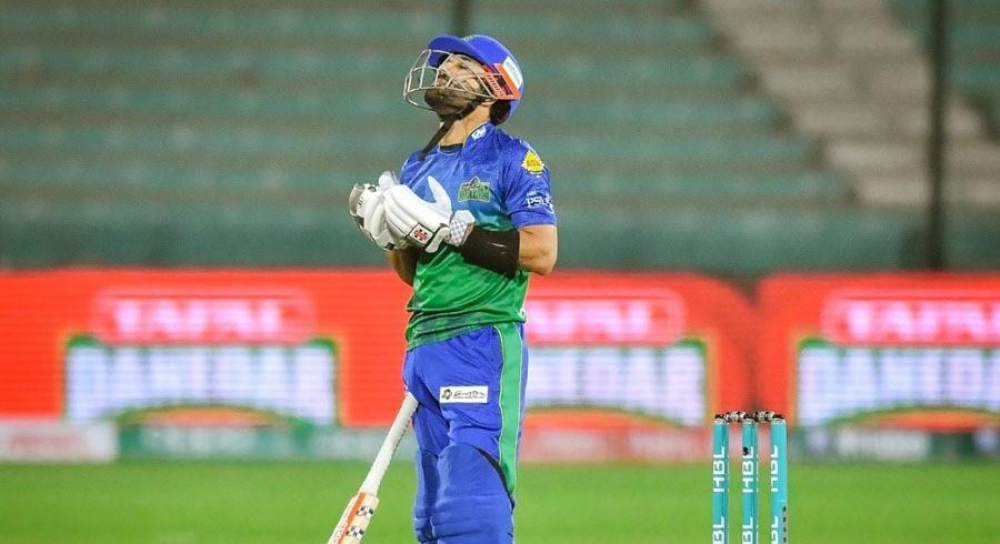 ملتان سلطانز نے لاہور قلندرز کو 7 وکٹوں سے شکست دیدی