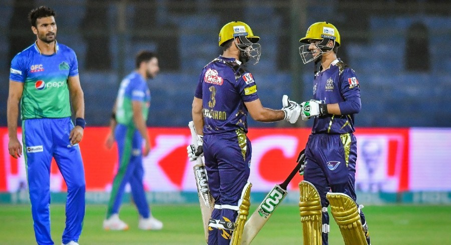 Usman Khan propels Quetta Gladiators to 176-run total against Multan Sultans
