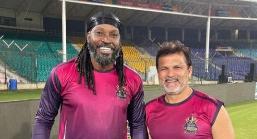 Chris Gayle reveals interesting story about 'talkative' Moin Khan