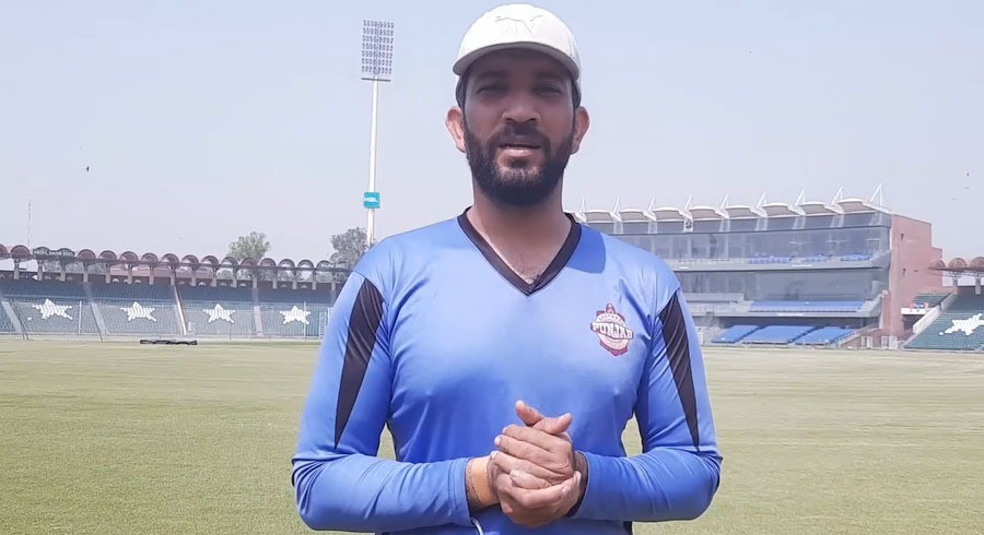 Sohaib Maqsood keen to improve his fitness at National High Performance Centre