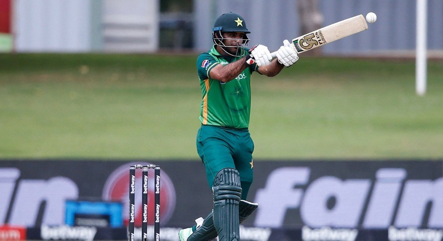 Zaman used bat gifted by Hafeez during South Africa ODIs