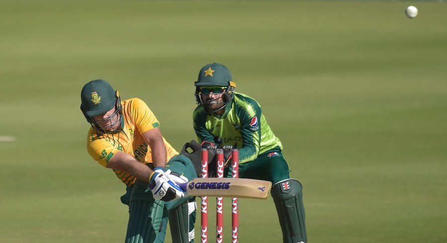 South Africa set massive 189-run target in first Pakistan T20I