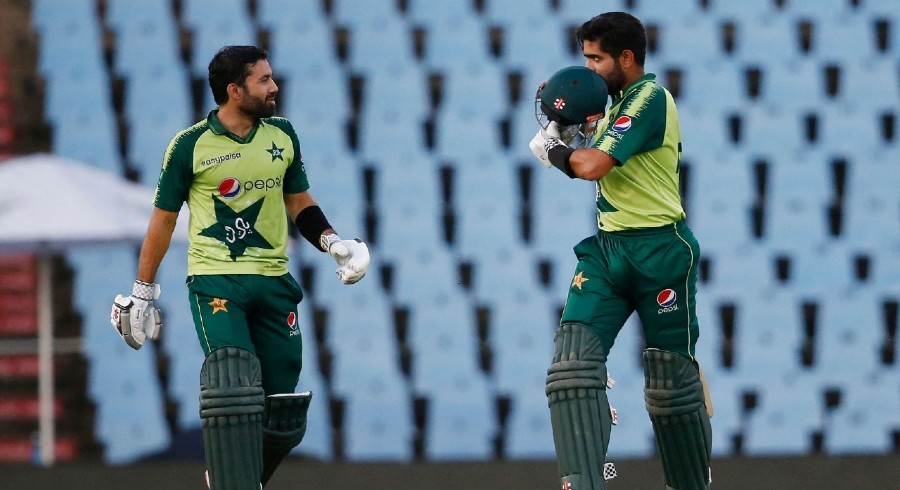 Pakistan set imposing 166-run target after stellar Rizwan, Babar knocks