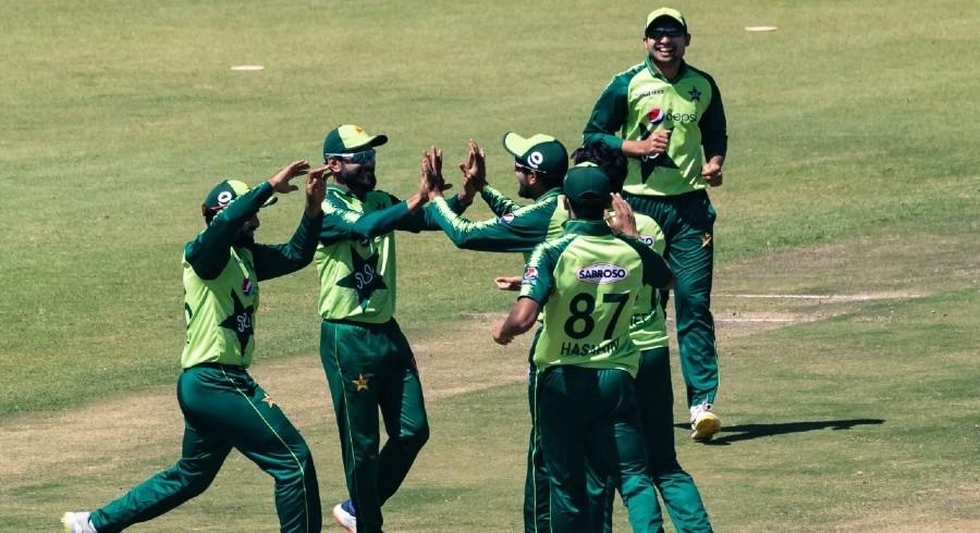 پاکستان نے زمبابوے کو شکست دے کر ٹی ٹوئنٹی سیریز اپنے نام کرلی