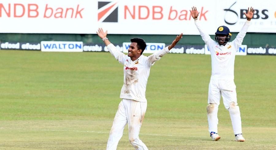 Jayawickrama bowls Lanka to series victory in dream Test debut