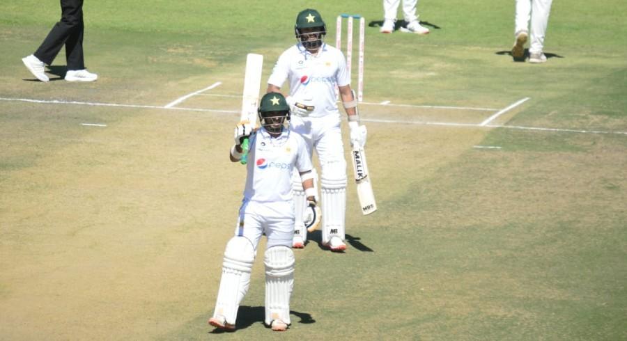 Azhar, Abid keep Pakistan on top against Zimbabwe