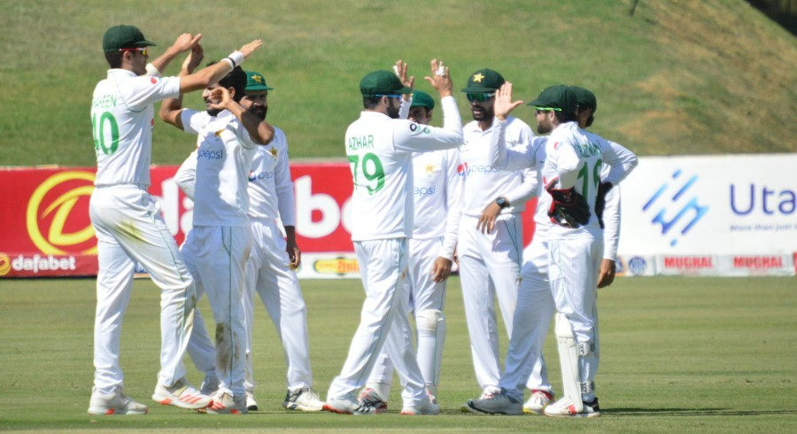 Four-down Zimbabwe in trouble after Pakistan post mammoth total on day two