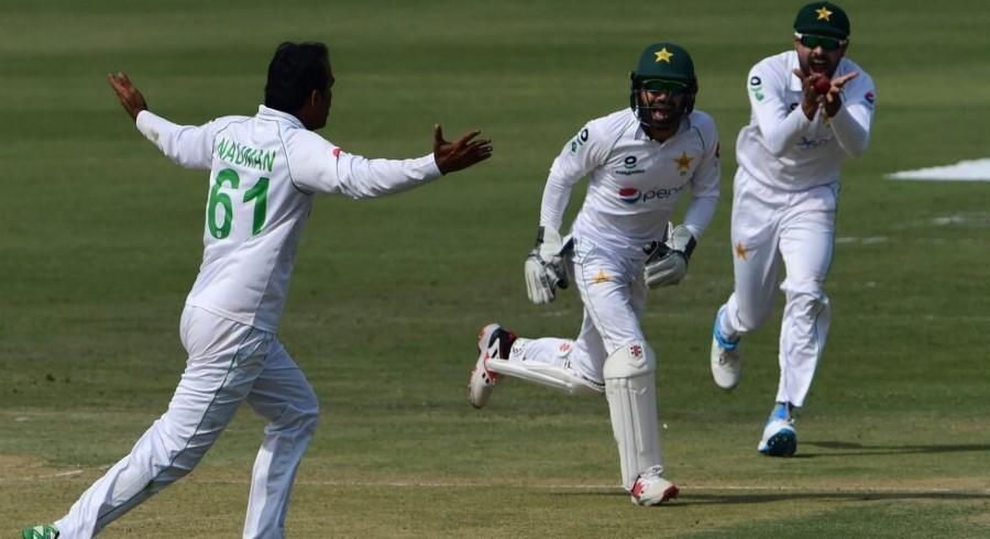 Nauman bags fifer as Pakistan close in on Test series win against Zimbabwe