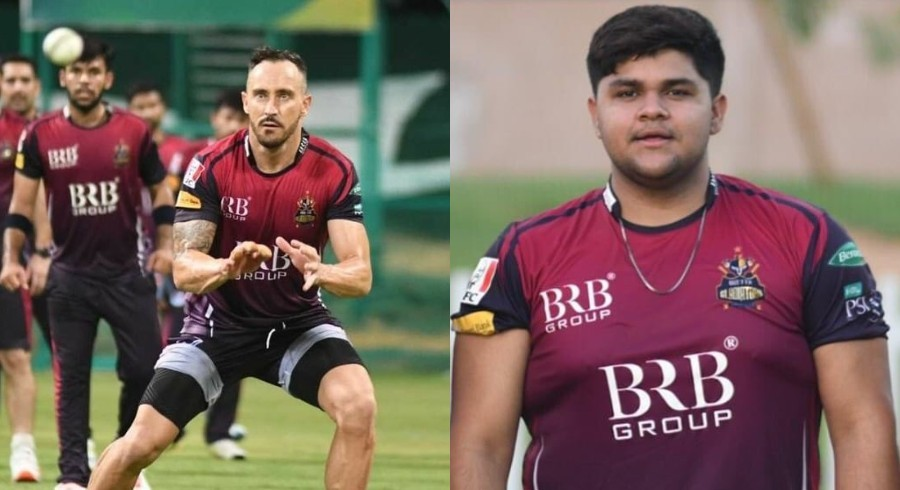 'Don't need six-pack to be successful': Du Plessis on Azam Khan