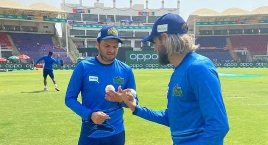 Usman Qadir makes important addition to bowling armoury with Imran Tahir's help