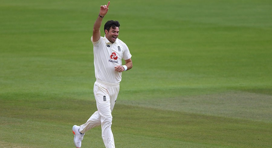 James Anderson becomes England's most-capped player in Test cricket