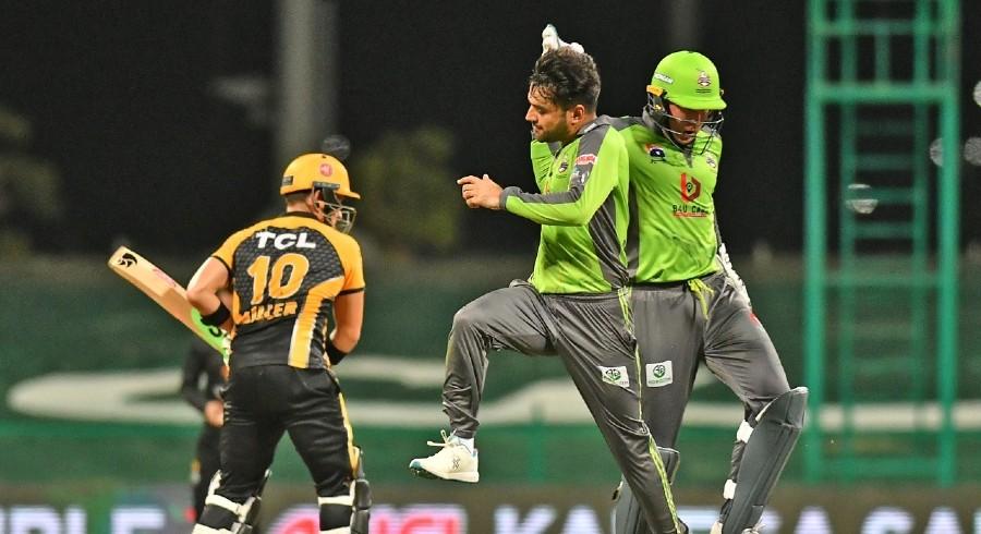 لاہور قلندر نے پشاور زلمی کو شکست دے دی