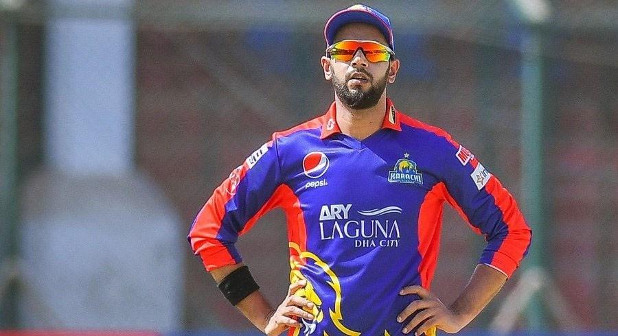 Imad Wasim reacts after Peshawar Zalmi thrash Karachi Kings