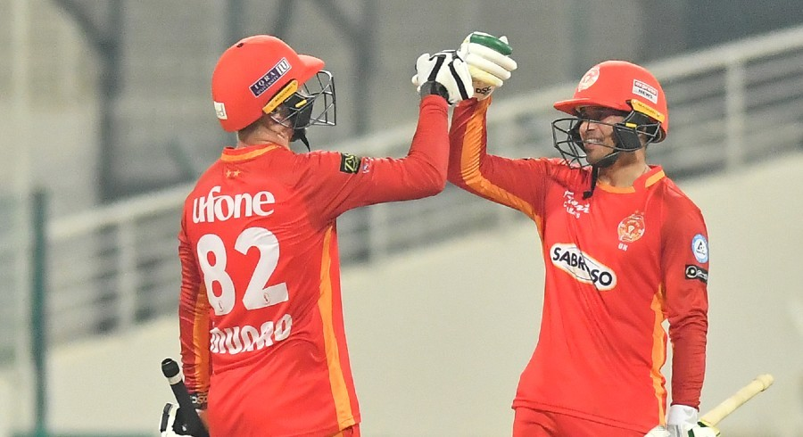 Khawaja hits ton as United post highest total in HBL PSL history