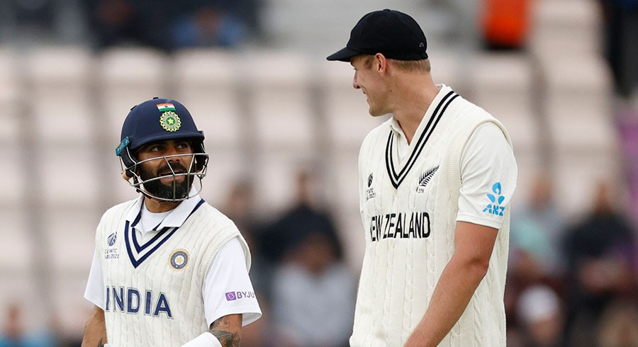Kohli leads India revival before bad light intervenes in WTC final