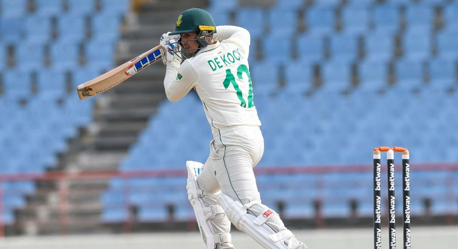 De Kock misses ton but South Africa in control of second Windies Test