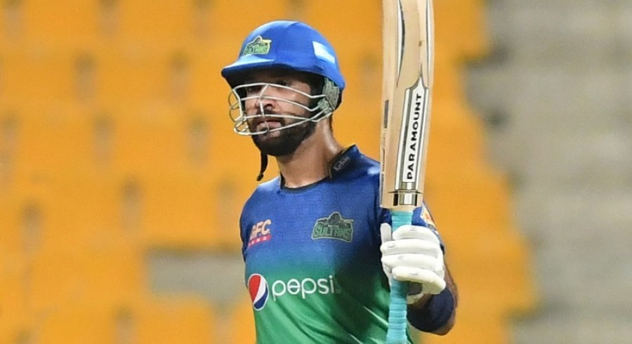Maqsood, Khushdil propel Sultans to 180-5 against United