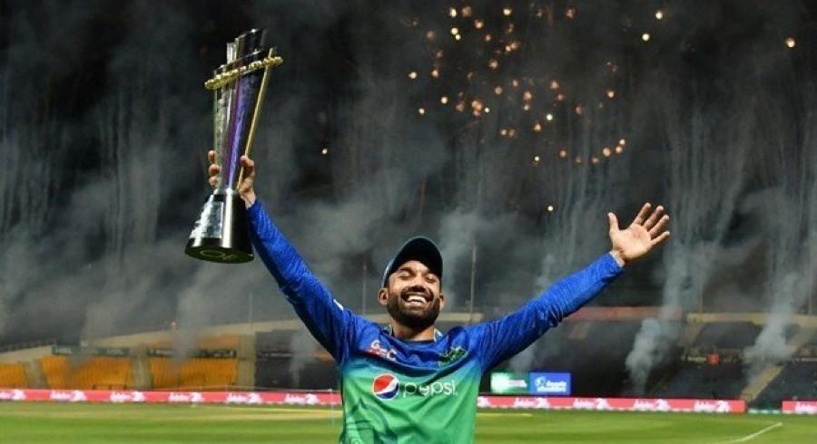 محمدرضوان ٹیم آف ایچ بی ایل پاکستان سپر لیگ6 کے کپتان نامزد