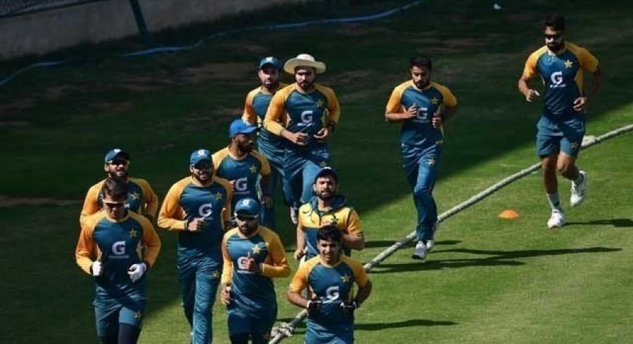 ڈربی میں موجود پاکستانی کرکٹرز کی مشقوں میں تیزی آگئی